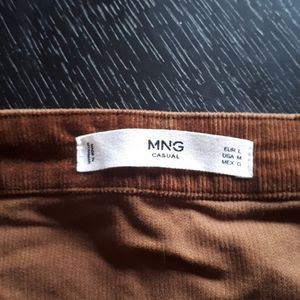 Mango Skirts - Brown High waist skirt - Mango